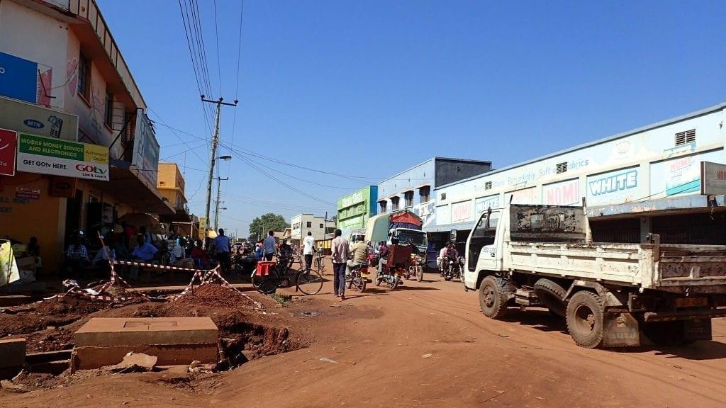 Street in Lira, Uganda