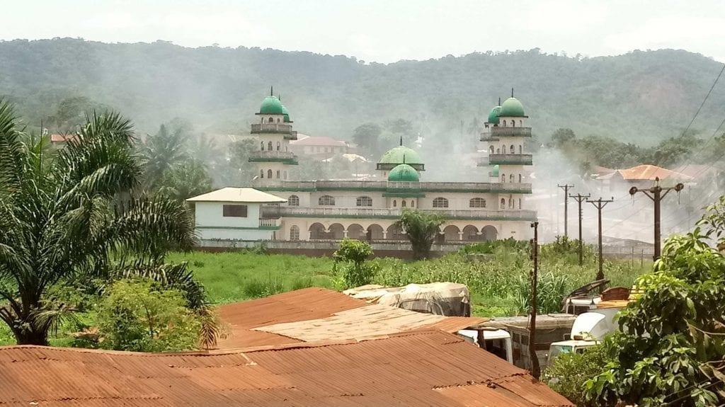 Central mosque in Kenema, Sierra Leone