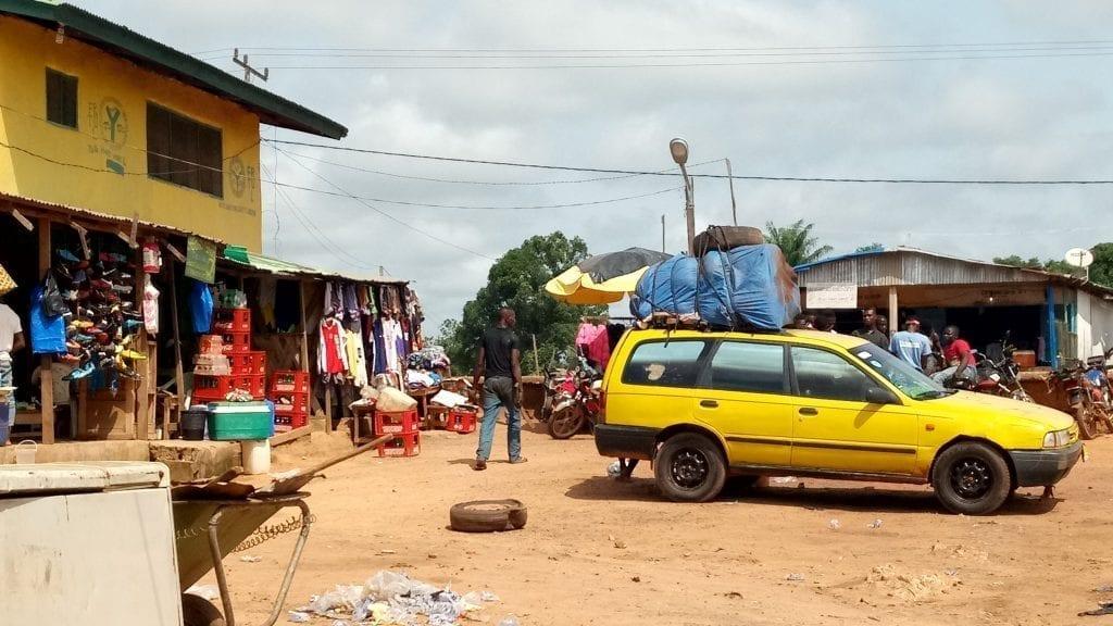 Liberia travel taxi park