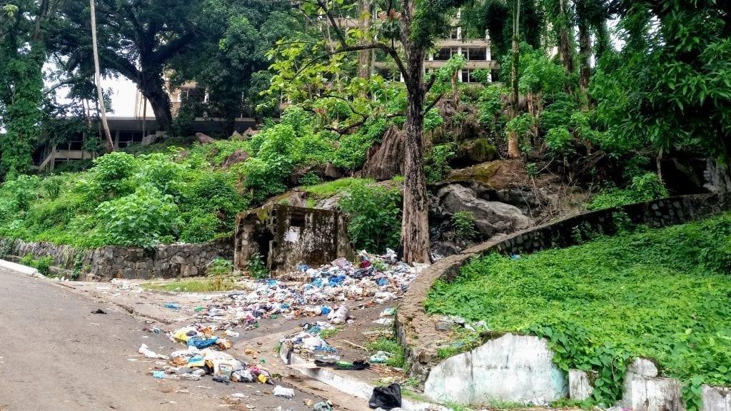 Trash in Monrovia, Liberia