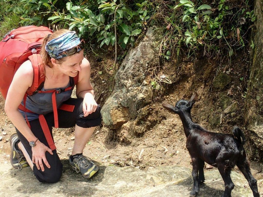 Trekking on Rwanda's Congo Nile Trail with Osprey Porter pack