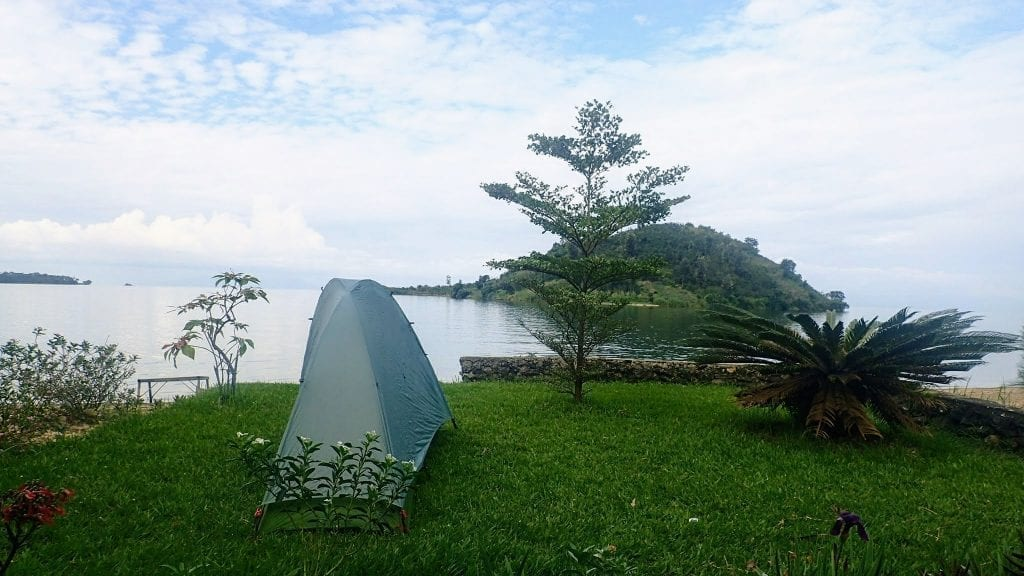 Big Sky Designs Soul Tent on Rwanda's Congo Nile Trail