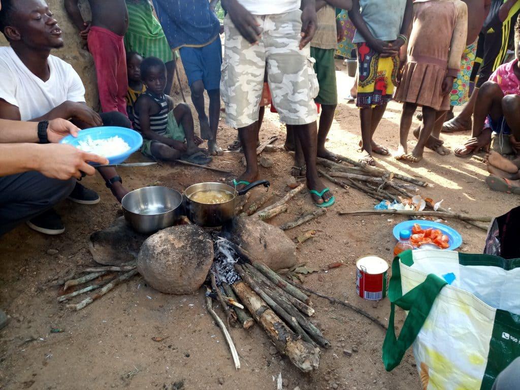 Cooking in Sierra Leone