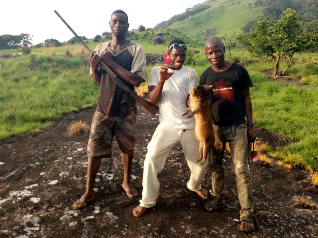 Sierra Leone Bintumani guides bush meat