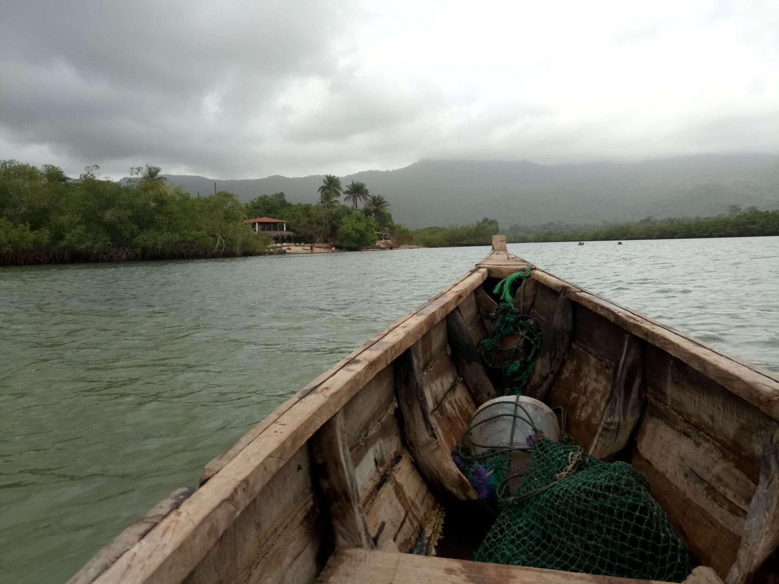 Sierra Leone River No 2 boat crossing