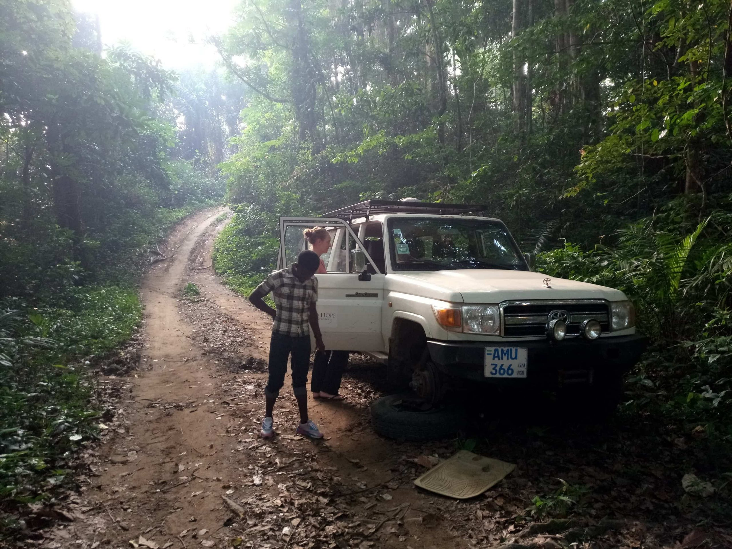 Sierra Leone dirt roads Bintumani