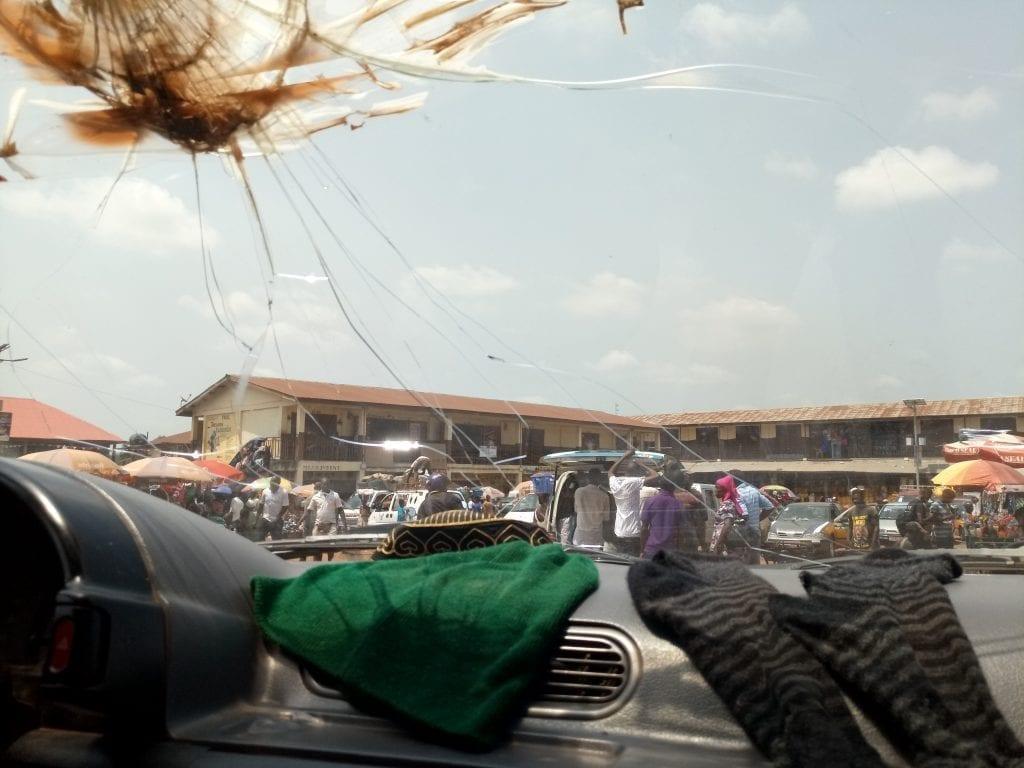 Kenema Sierra Leone taxi park