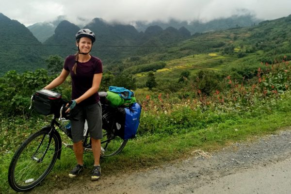 Bicycle touring north Vietnam