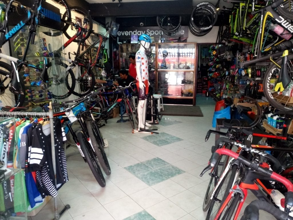 Chongchareon Bicycle Shop in Vientiane