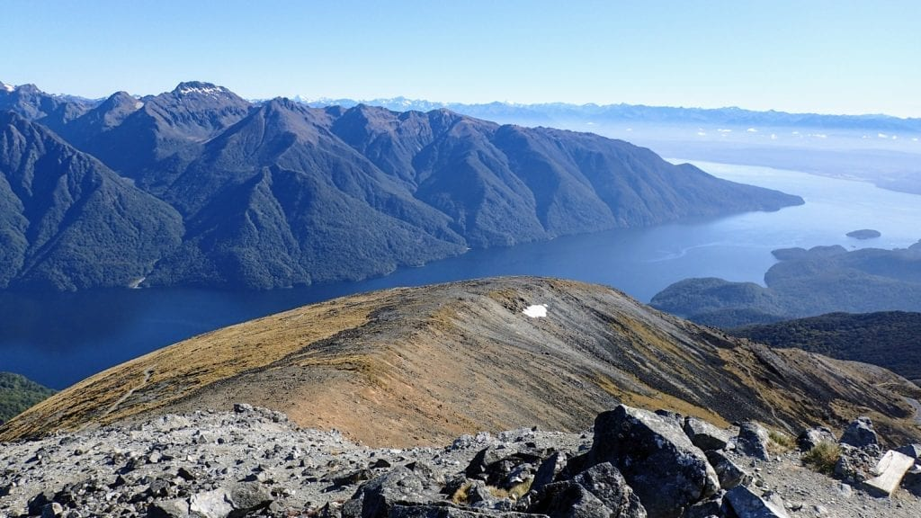 New Zealand Fiordlands from Kepler Track