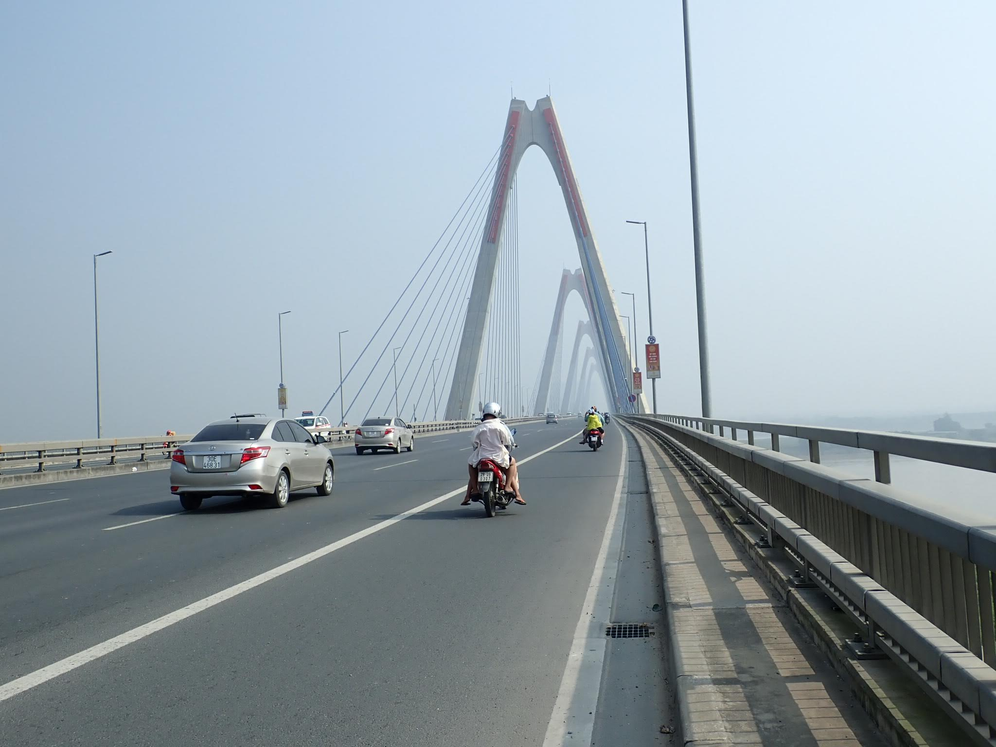Hanoi highway 14 bridge