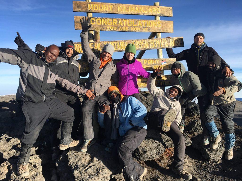 Kilimanjaro summit picture