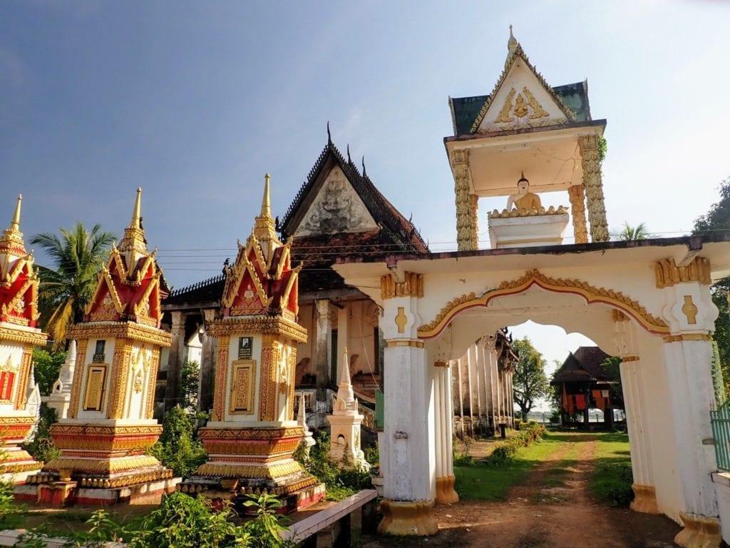 Laos Buddhist temple
