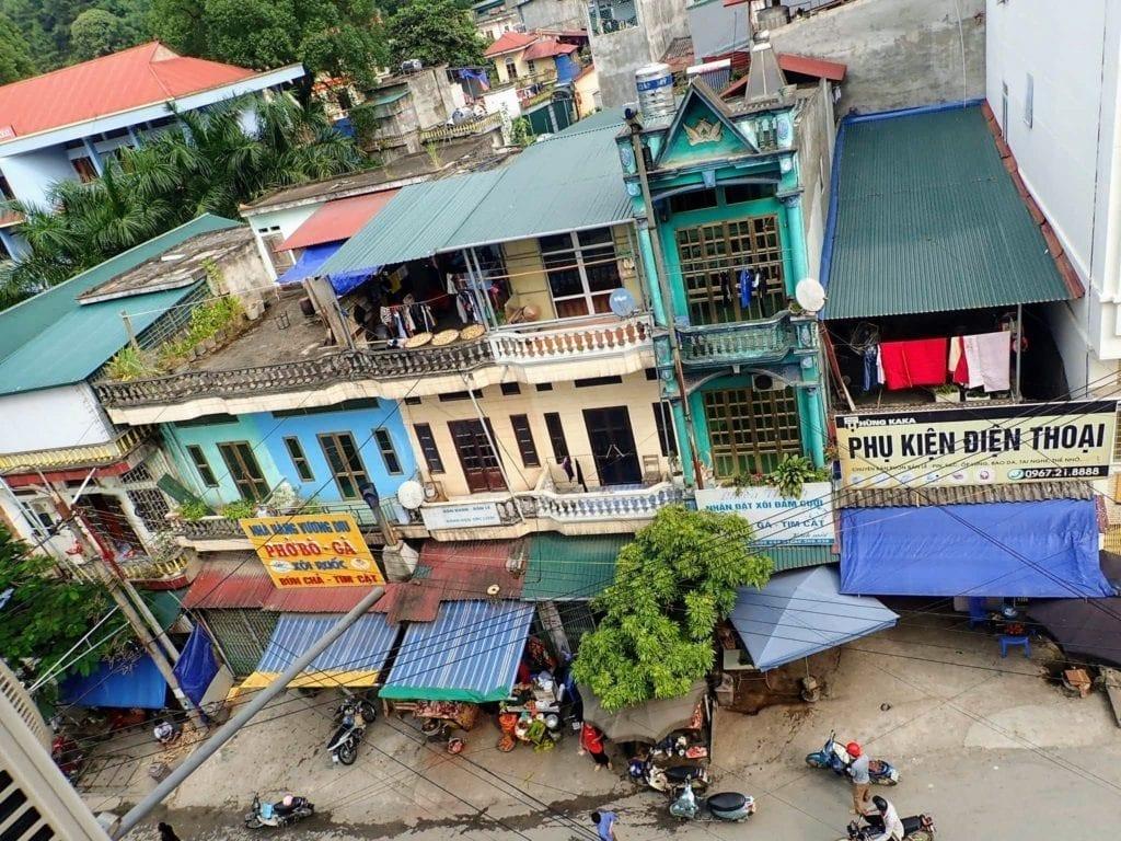Vietnamese buildings in Hoang Su Phi
