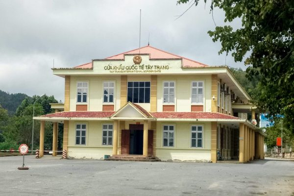 Tay Trang Dien Bien Phu border post Vietnam
