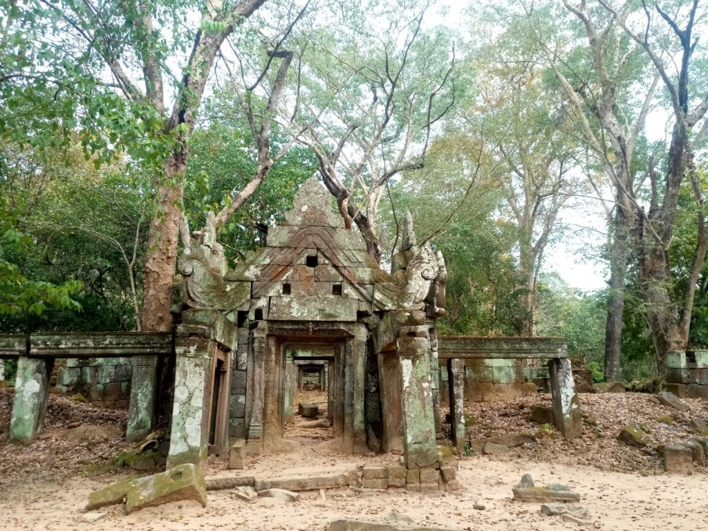 Temple ruins at Koh Ker