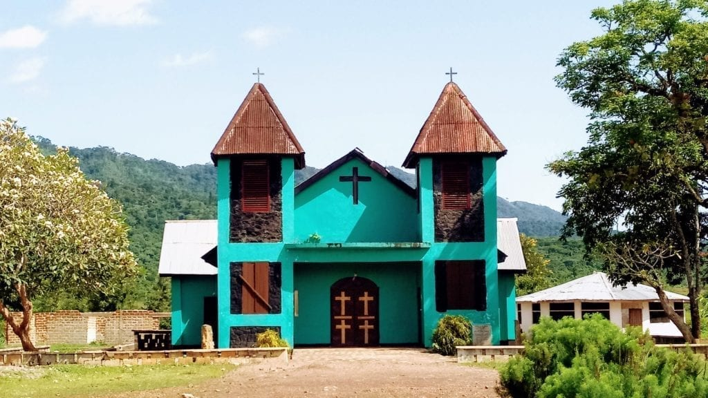 Church in Yekepa Liberia