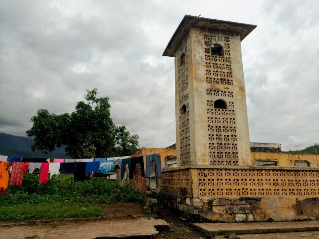 Old mosque in Yekepa Liberia
