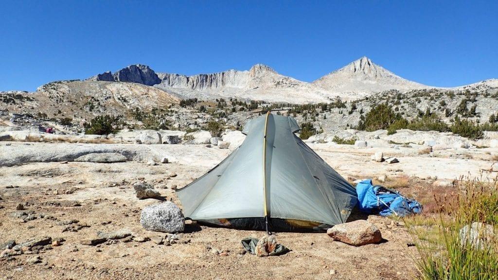 Campsite on John Muir Trail