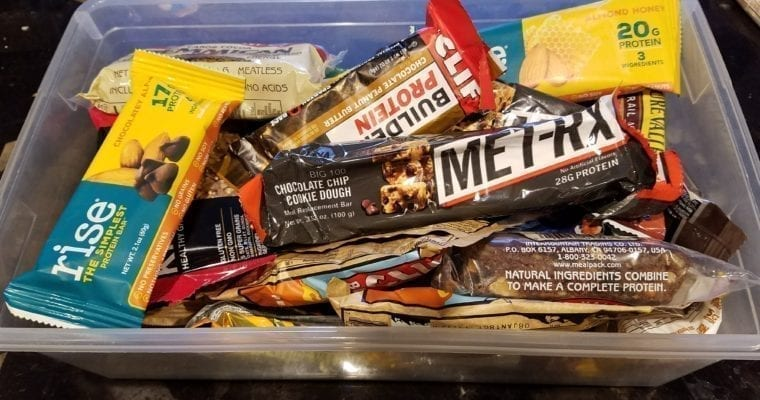 Comparing The Best High-Calorie Protein Bars for Backpacking