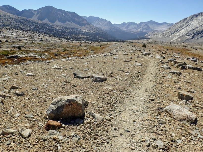 Rocky John Muir Trail