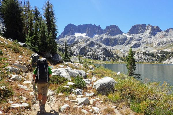 Backpackers on the John Muir Trail