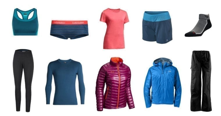Clothing For Lightweight Backpacking: A Minimalist Full-Comfort Packing List