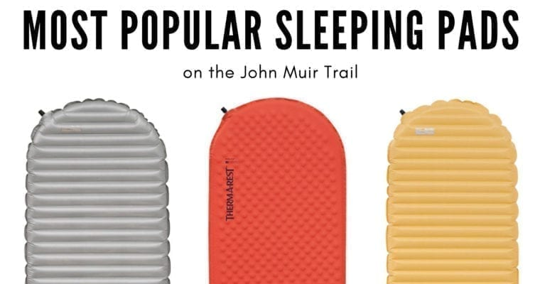 The Most Popular Sleeping Pads for Backpacking: Lessons from the JMT