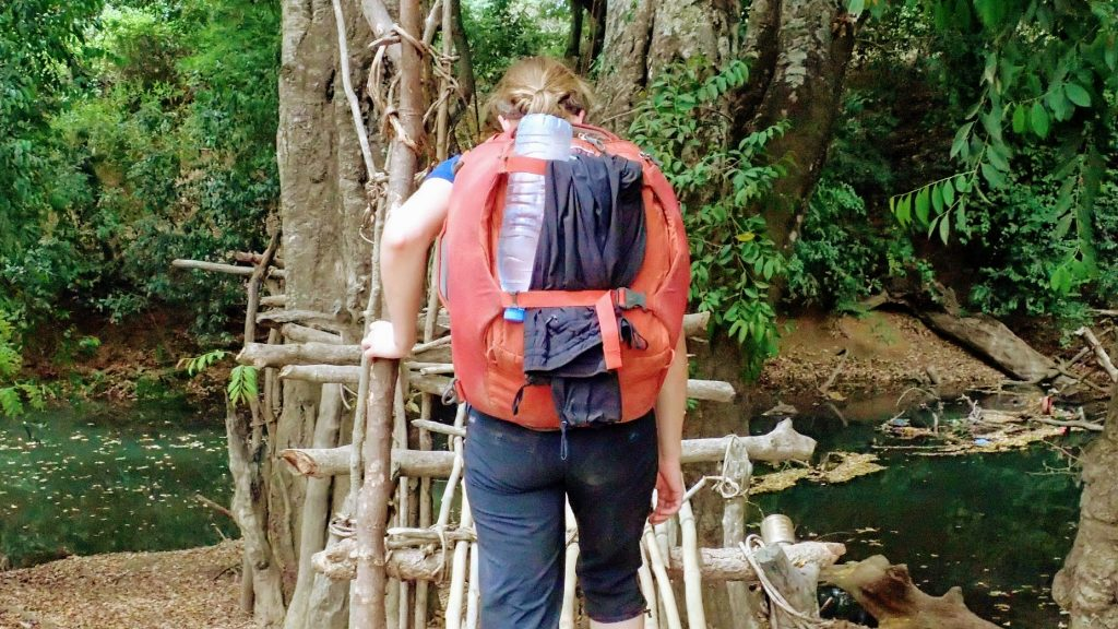Trekking in Guinea with the Osprey Porter 46