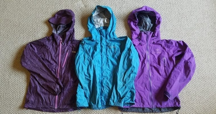 Three Top Rain Jackets Reviewed and Compared
