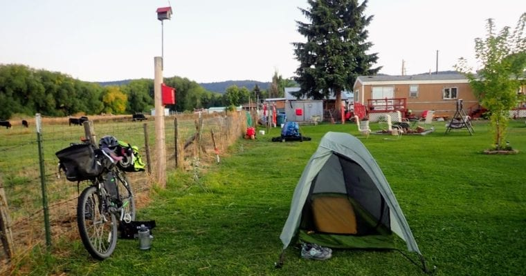 Where to Sleep and Camp While Bicycling Across America