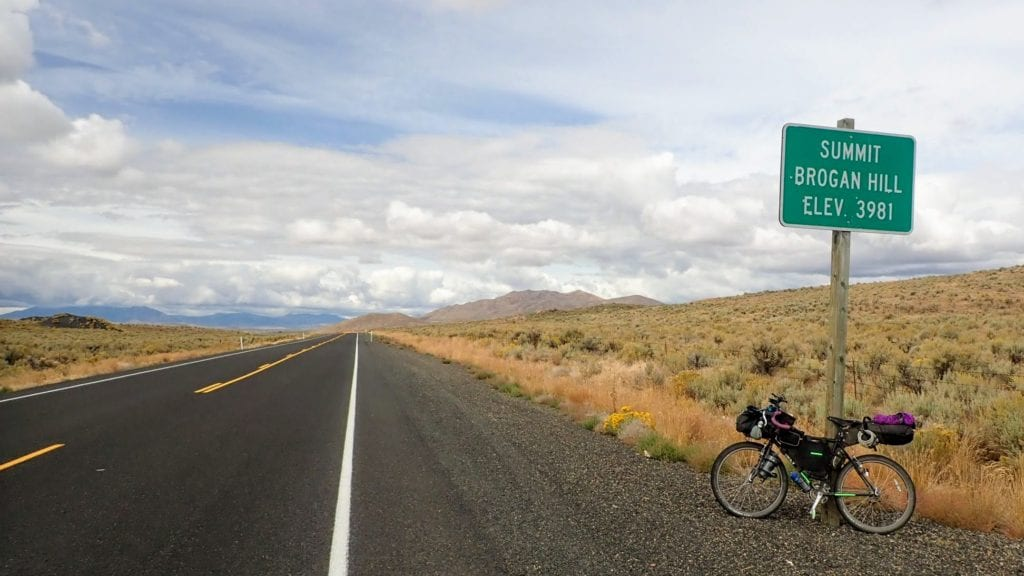 Bicycle touring eastern Oregon