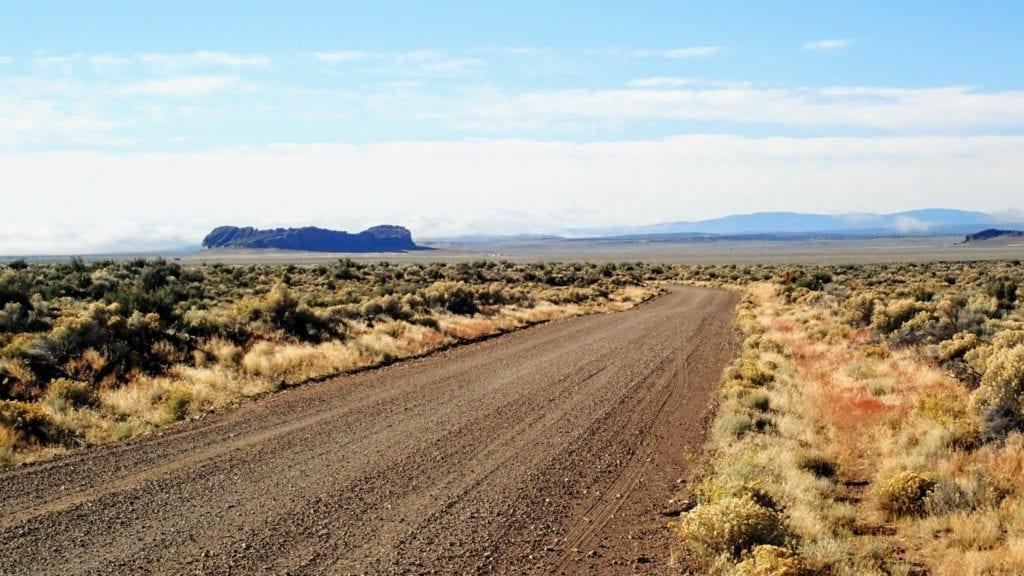 Bikepacking in Oregon desert