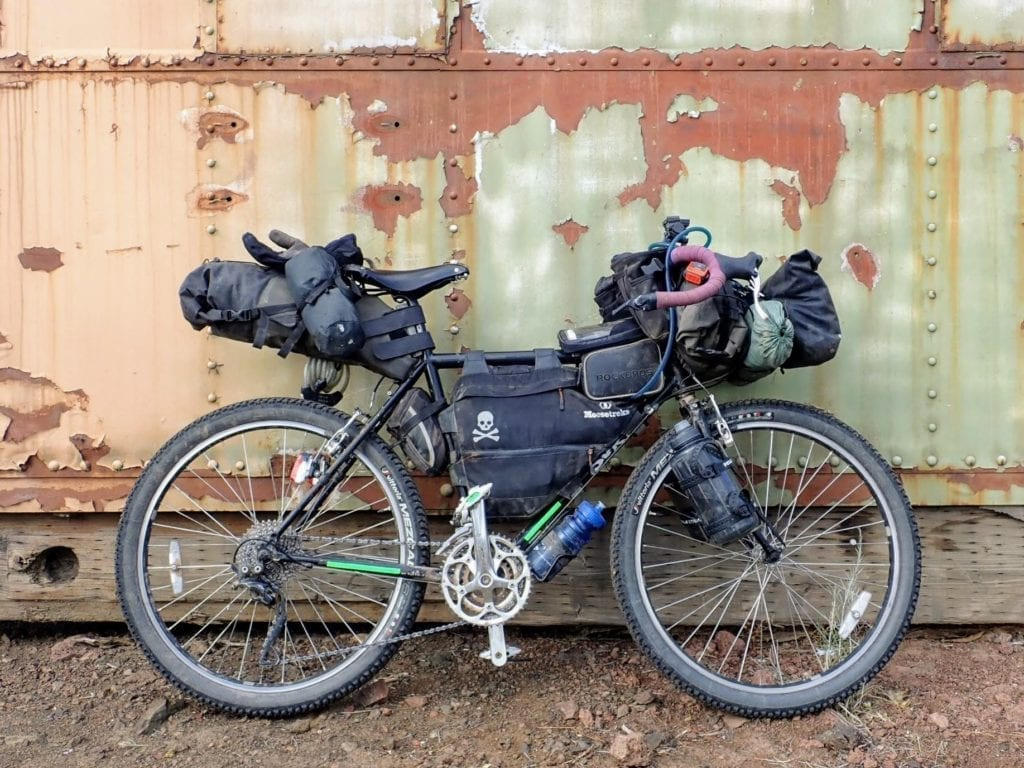 Surly Long Haul Trucker Bikepacking