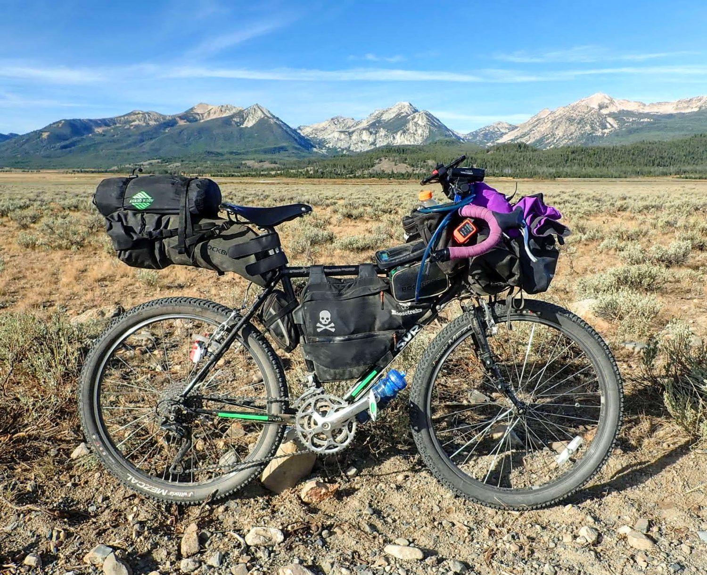 Bikepacking in Idaho