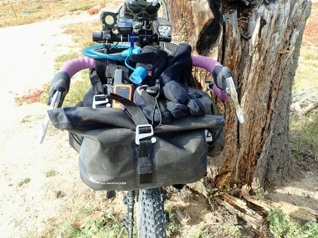 Bikepacking cockpit