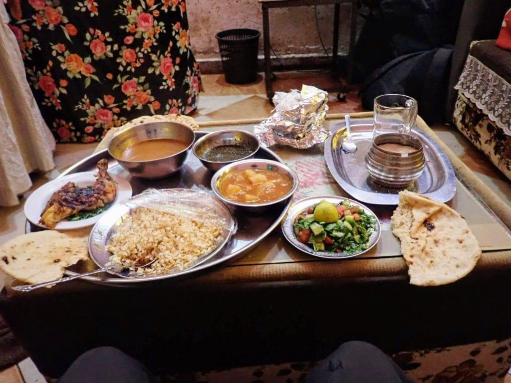 Egyptian dinner
