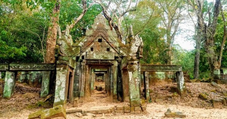 Koh Ker Temples in Cambodia