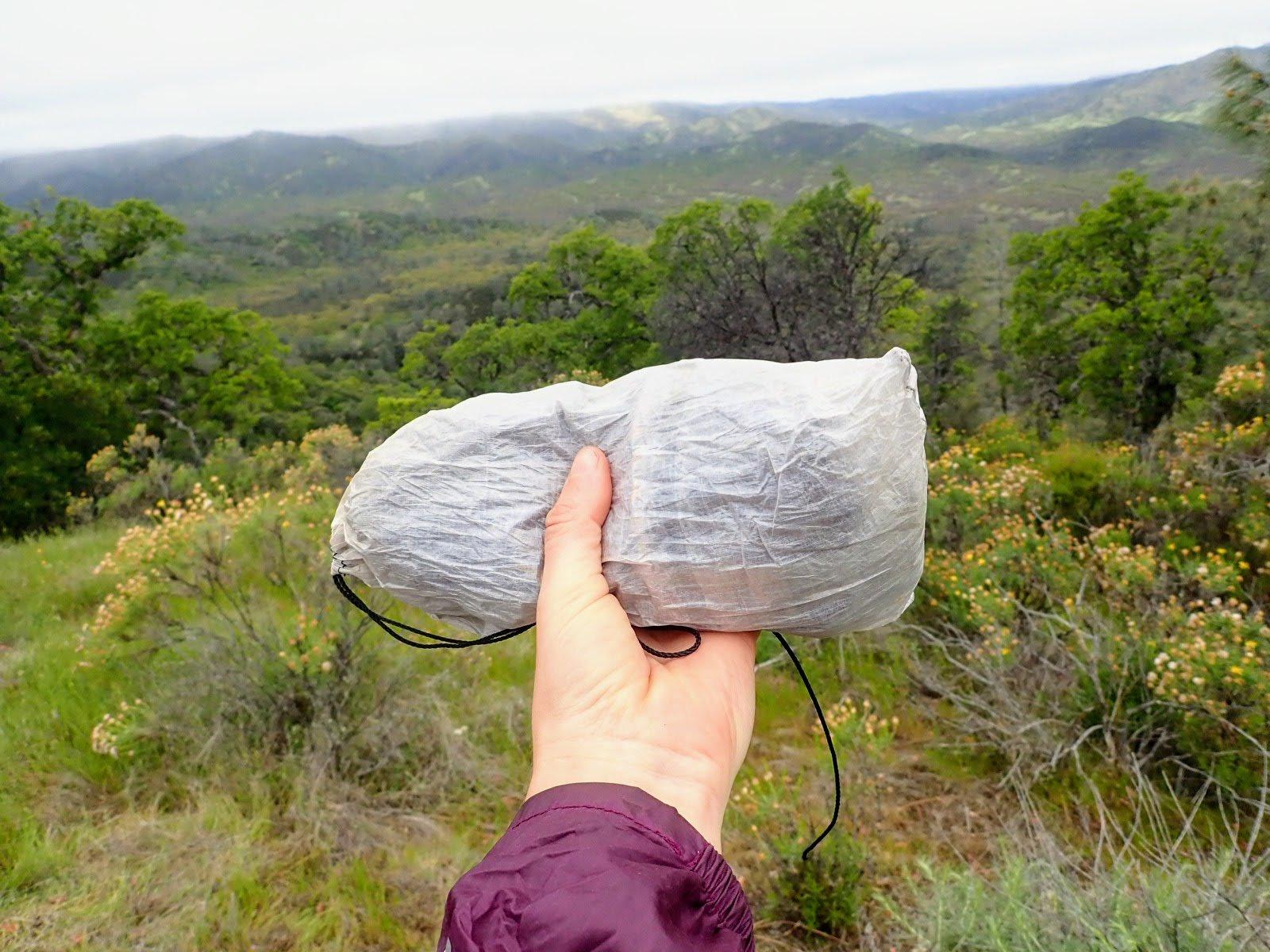 Borah Gear bivy in stuff sack