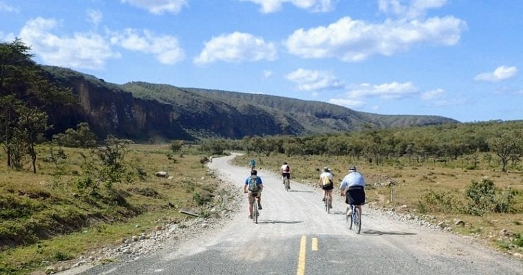 Hell's Gate National Park: Bicycle Safari and Slot Canyon Hiking in Kenya