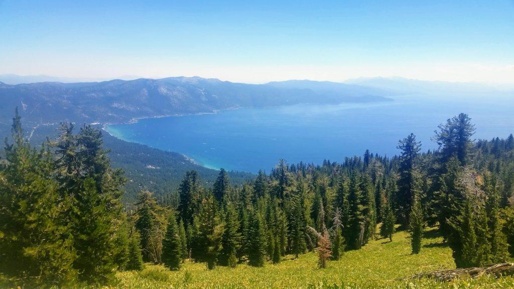 Lake Tahoe from TRT