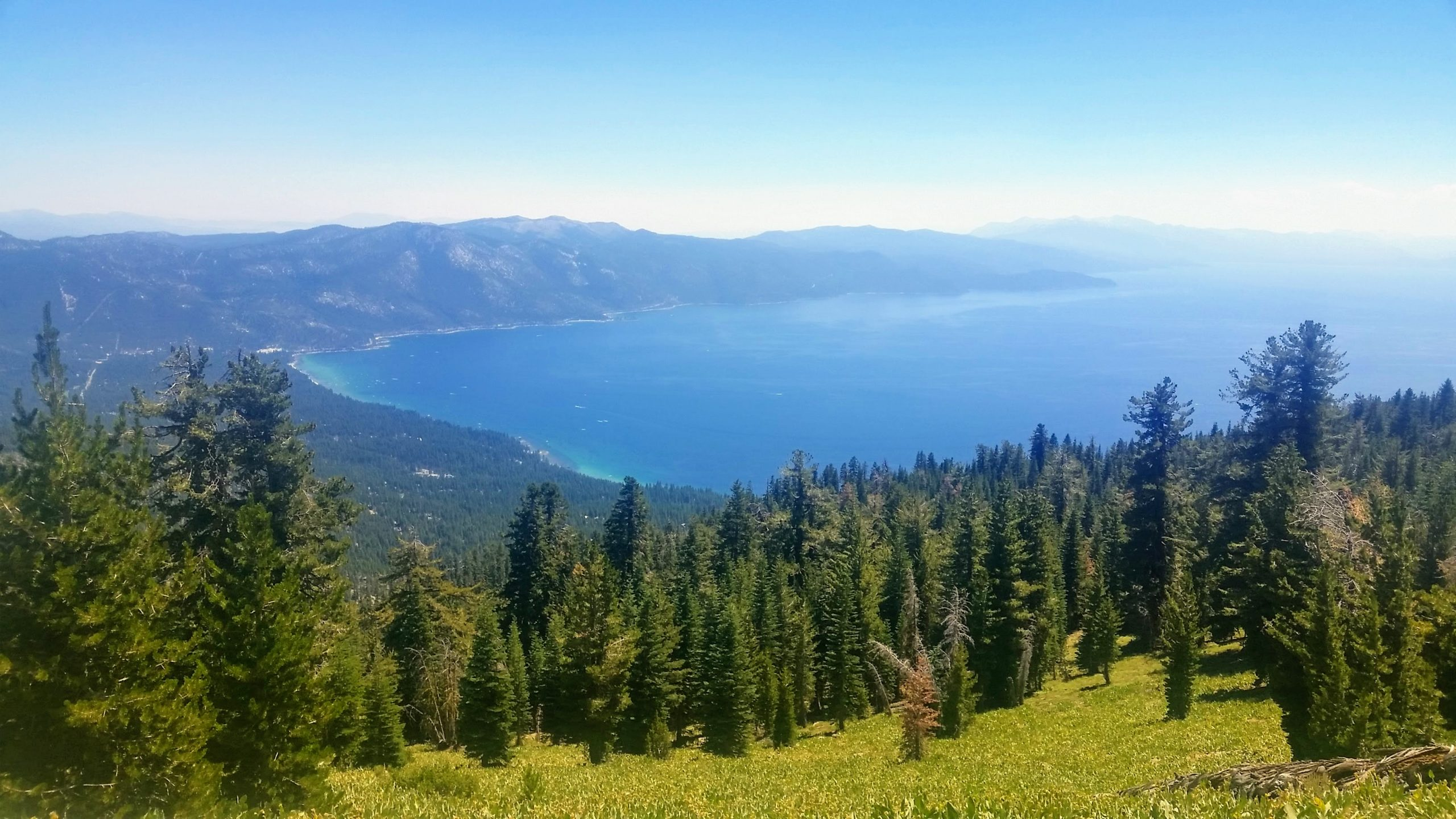 Lake Tahoe from TRT